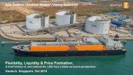 Flexibility Liquidity & Price Formation