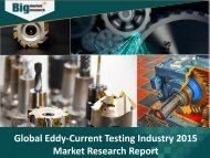 Eddy-Current Testing Industry – Trends, Challenge, Driver, Growth, Demand, Analysis, Opportunities & Forecast