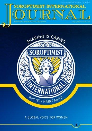 Soroptimist Österreich - Journal 03-2015