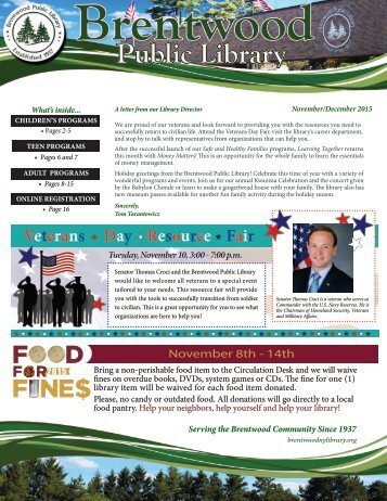 Veterans Day Resource Fair
