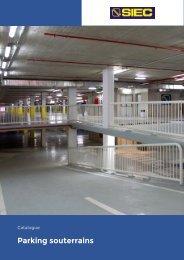 5.- Catalogue Parking souterrains