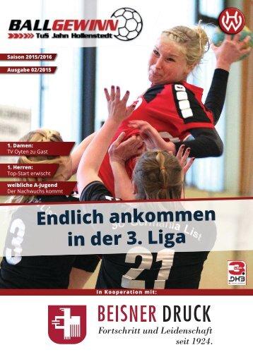 Ballgewinn 02/2015 // TuS Jahn Hollenstedt - TV Oyten