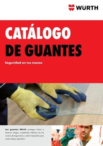 CATÁLOGO DE GUANTES
