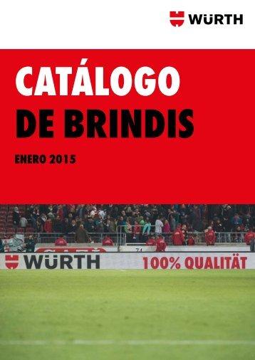 CATÁLOGO DE BRINDIS