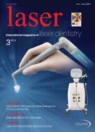 laser – international magazine of laser dentistry No. 3, 2015