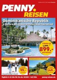 Penny Reisen Prospekt November 2015