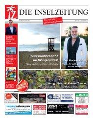 Die Inselzeitung Mallorca November 2015
