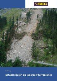 1.- Catálogo Estabilización de laderas y terraplenes