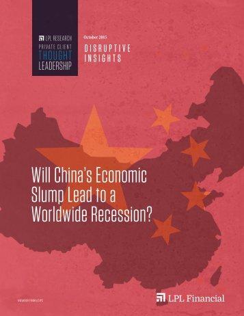 Slump Lead to a Worldwide Recession?