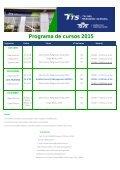 Programa de cursos 2015 - Page 3