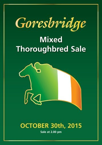 Mixed Thoroughbred Sale