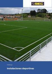 8.- Catálogo Instalaciones deportivas