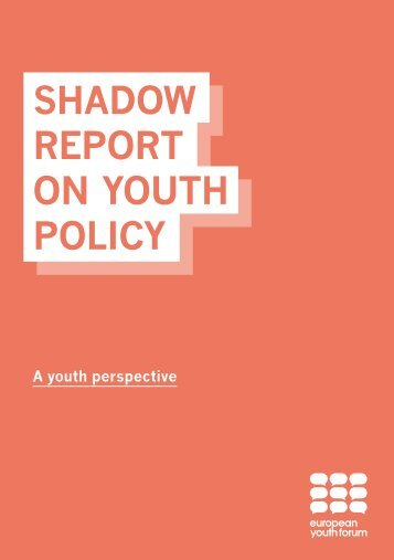 SHADOW REPORT ON YOUTH POLICY