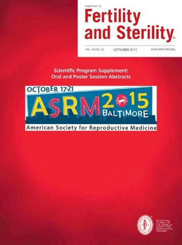 October 17-21 2015 Baltimore Maryland