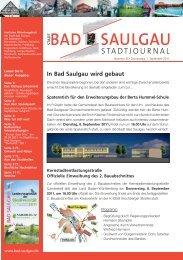 Donnerstag, 1. September 2011 - Stadt Bad Saulgau