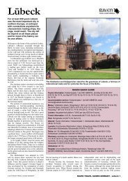 Raven Guides: Germany - Lubeck