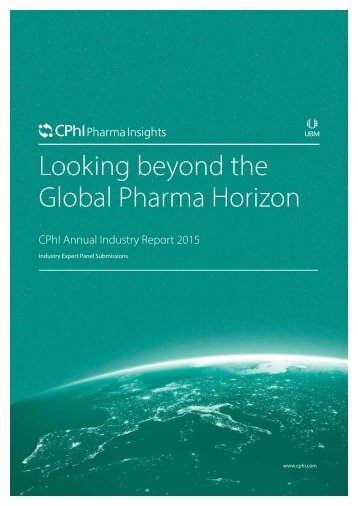 Looking beyond the Global Pharma Horizon