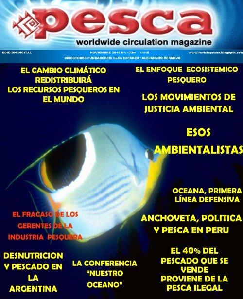 Revista Pesca noviembre 2015