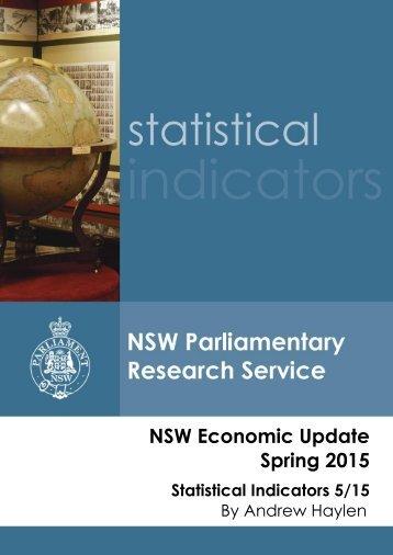 NSW Economic Update Spring 2015