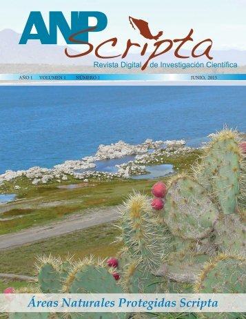 Áreas Naturales Protegidas Scripta