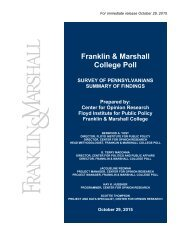 Fr ranklin Col n & M lege P Marsh Poll all