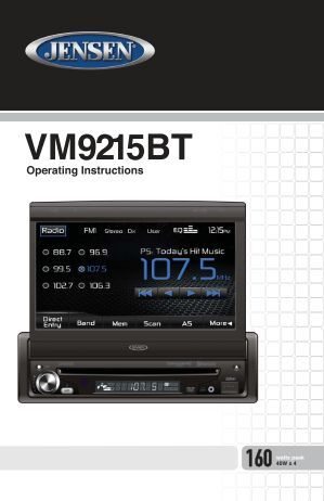 jensen vmbt wiring diagram jensen image wiring troubleshooting 34 on jensen vm9215bt wiring diagram