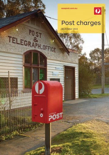 Post charges