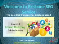 SEO Agency Brisbane | Internet Marketing