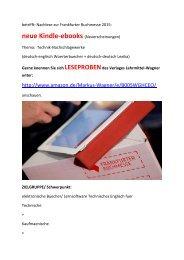 Nachlese Frankfurter Buchmesse Technik-Einstieg mit Kindle-ebooks