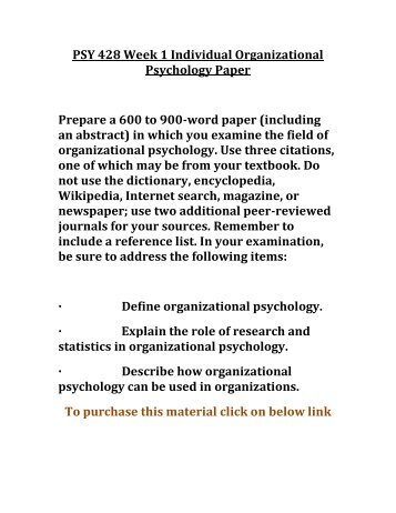 Psy410 Historical Perspectives in Abnormal Psychology