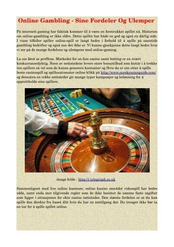 on-line casino på telefonen