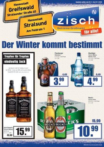 Zisch Angebote KW45/2015 - Greifswald/Stralsund