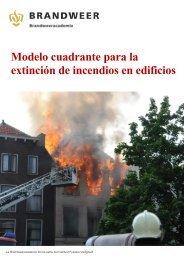 Modelo cuadrante para la extinción de incendios en edificios