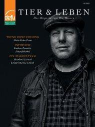 defu: Tier & Leben - Das Magazin vom Bio-Bauern 02/2015