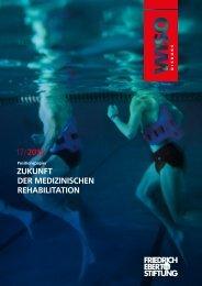 17/ 2015 ZUKUNFT DER MEDIZINISCHEN REHABILITATION