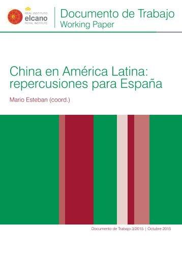 China en América Latina repercusiones para España