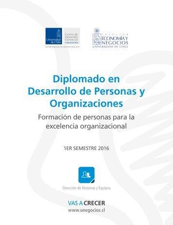 Diplomado en Desarrollo de Personas y Organizaciones