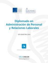 Diplomado en Administración de Personal y Relaciones Laborales