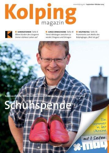 Kolping Magazin | September - Oktover 2015