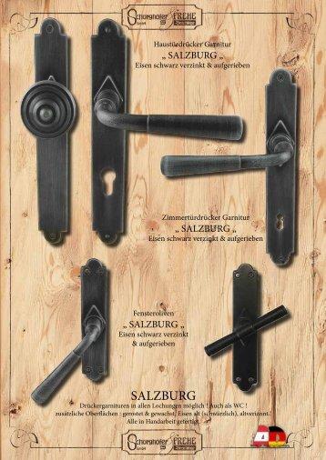 Neue Drückergarnituren aus Eisen und Messing