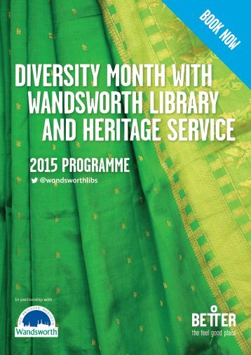 DIVERSITY MONTH WITH WANDSWORTH LIBRARY AND HERITAGE SERVICE