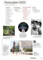 SWISS Magazine November 2015 - Page 3