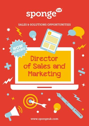 Director of Sales and Marketing
