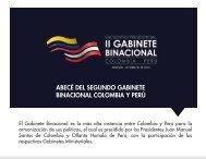 BINACIONAL COLOMBIA Y PERÚ