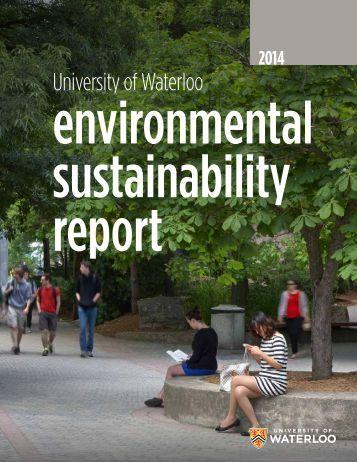 environmental sustainability report