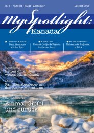 MySpotlight Kanada #5 Okt 2015