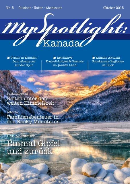 MySpotlight Kanada #5 Okt 2015