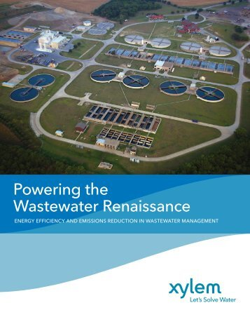 Powering the Wastewater Renaissance