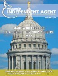 November 2015 WI Independent Agent