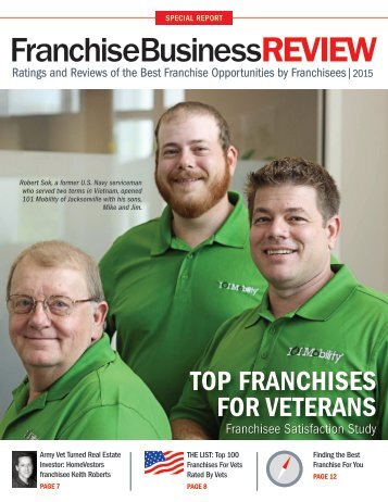 Top Franchises for Veterans 2015